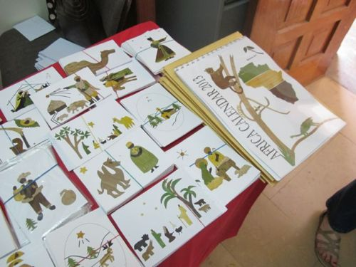 banana leaf cards and calendars