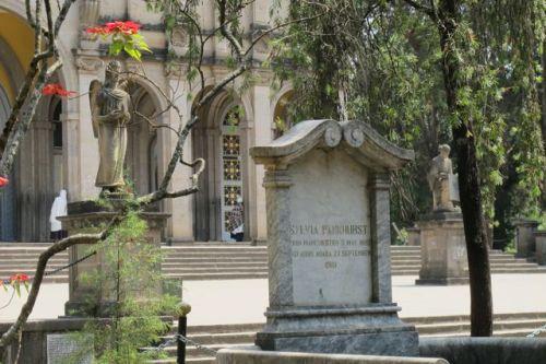 Sylvia Pankhurst grave in Addis