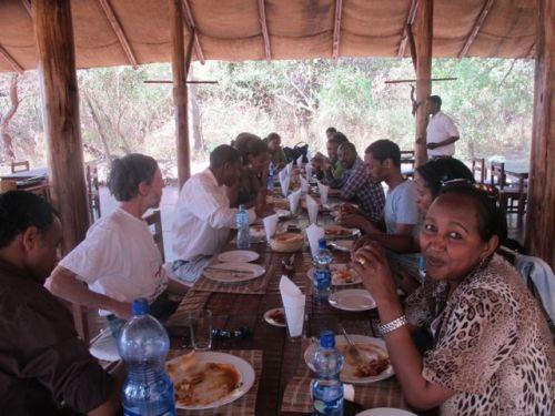 bishengari lunch