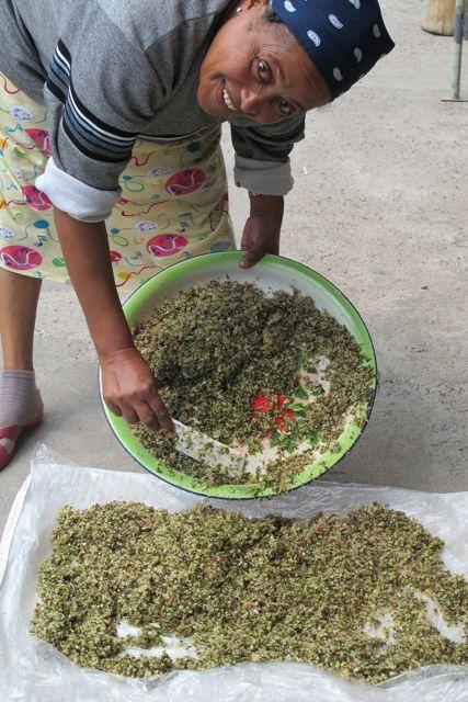 berbere herbs blended