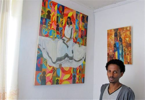 abiy and paintings