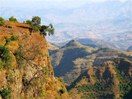 simien mountians entrance