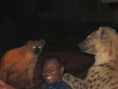 hyena guy