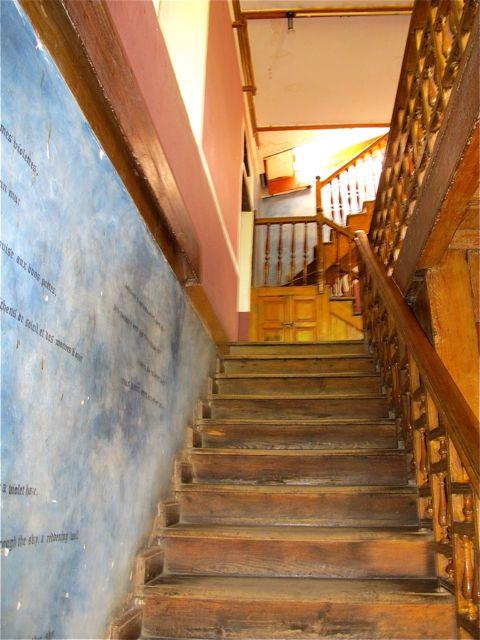 rimbaud museum stairs