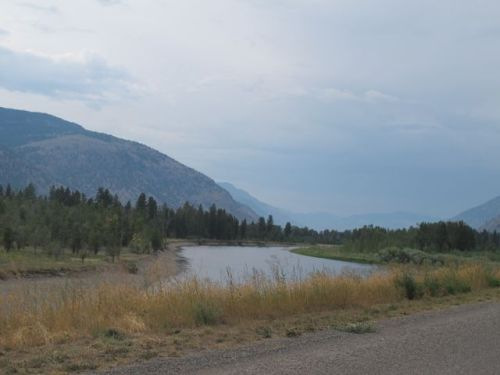 Similkameen River at Forbidden Fruit